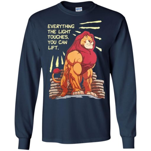 The Lion King Everything the light touches you can lift Mufasa Gymer