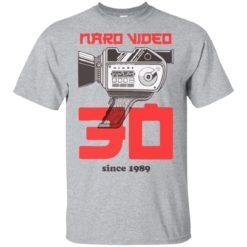 Naro Video Since 1989 Camera shirt