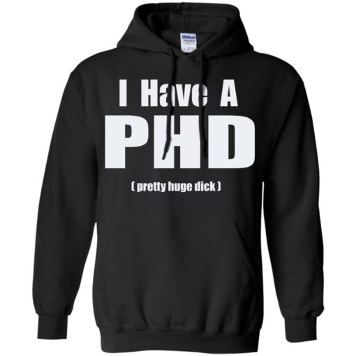 I have a PHD