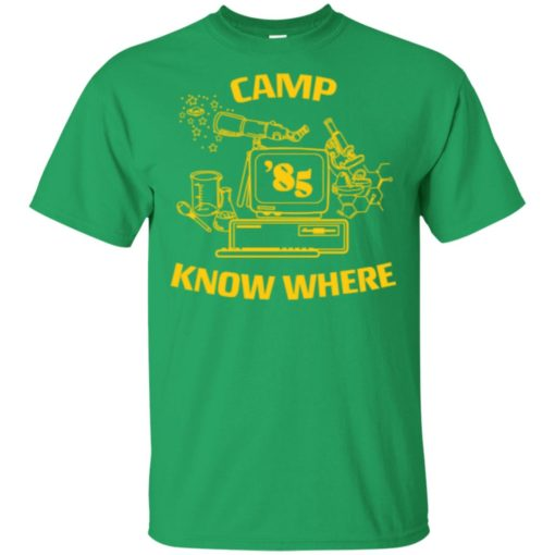 Dustin Camp know where