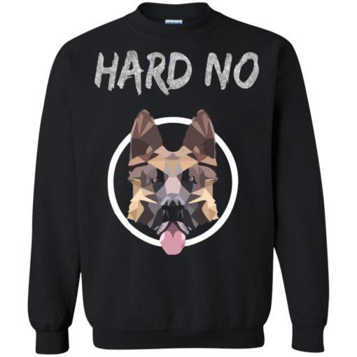 Hard No German shepherd dog