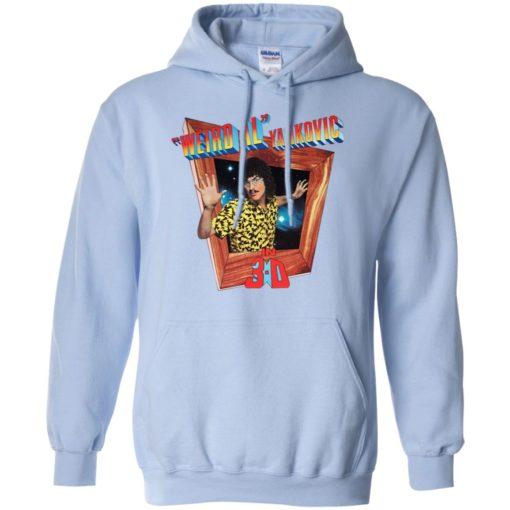 Dustin Weird Al Yankovic's shirt