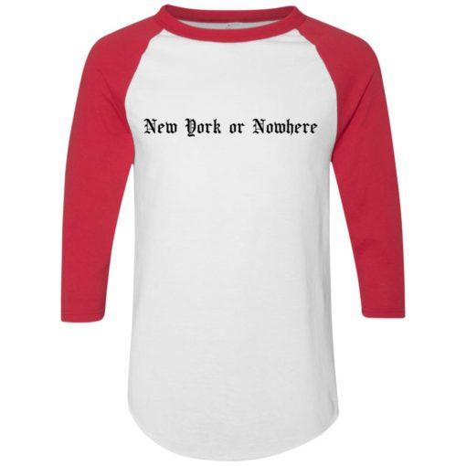 RJ Barrett New York or Nowhere shirt
