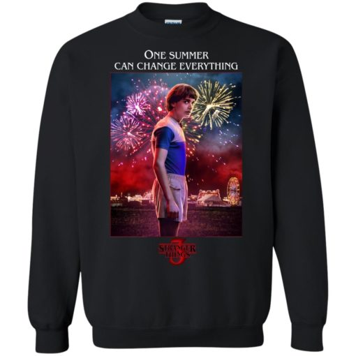 Will Byers one summer can change everything shirt