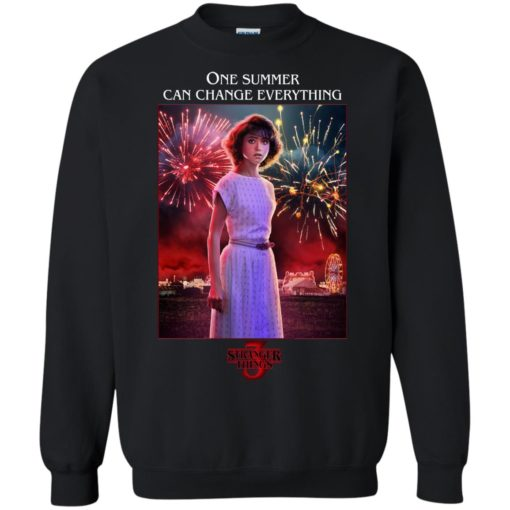 Nancy Wheeler one summer can change everything shirt
