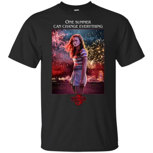 Max Stranger Things 3 one summer can change everything shirt