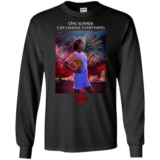 Erica Stranger Things one summer can change everything shirt