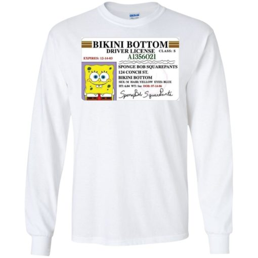Spongebob Squarepants Bikini Bottom Driver License