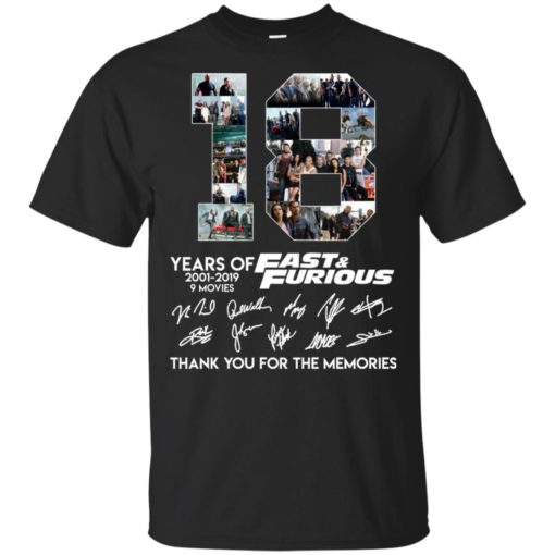 18 years of Fast and Furious