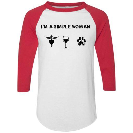 I'm a simple woman love Jon Bon Jovi, wine and dog